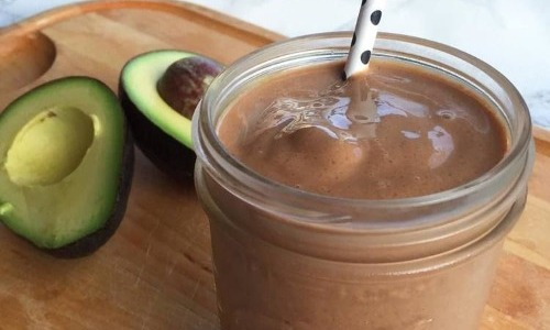 Hot Chocolate And Avocado